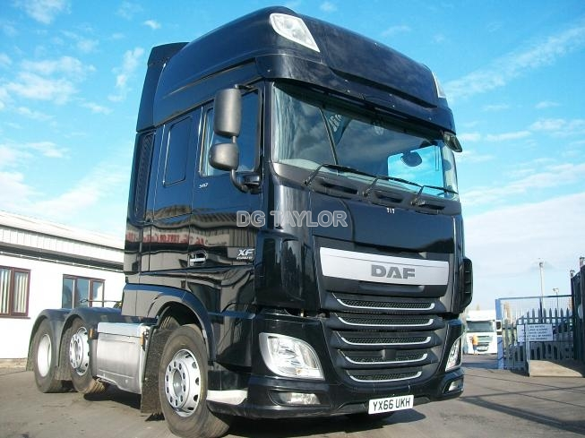 2016 (66) DAF  XF EURO 6 510 BHP SUPERSPACE CAB 6X2 UNIT (MANUAL)