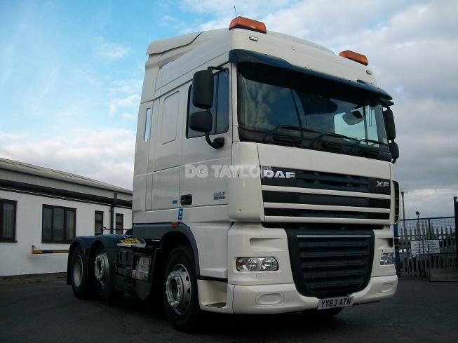 2013 (63) DAF  XF 105 EURO 5 460 BHP ATE SPACE CAB 6X2 UNIT (MANUAL GEARBOX)