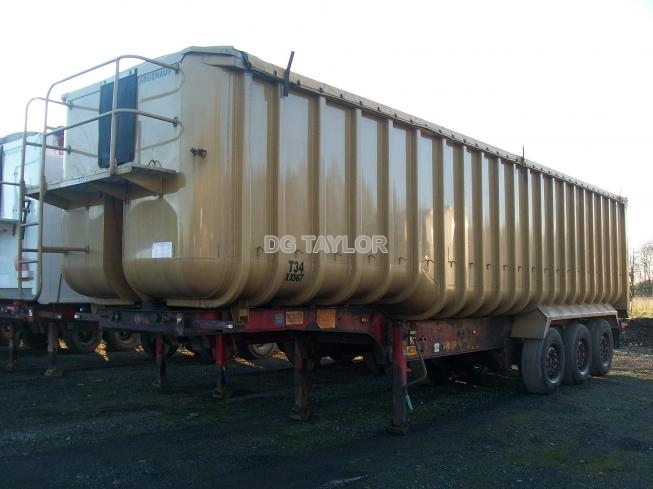 2008 FRUEHAUF STEP FRAME TRI AXLE 72 YD BATHTUB TIPPING TRAILER (TASCC REGISTERED)