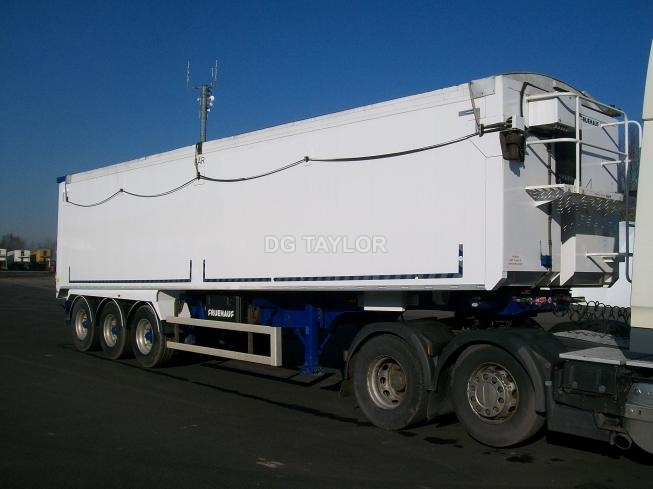 2016 FRUEHAUF SLOPER TRI AXLE 70 YD PLANKSIDED TIPPING TRAILER (TASCC REGISTERED)