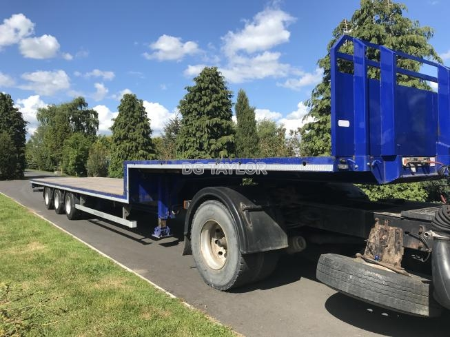 2015 MONTRACON STEPFRAME TRI AXLE 45FT FLAT