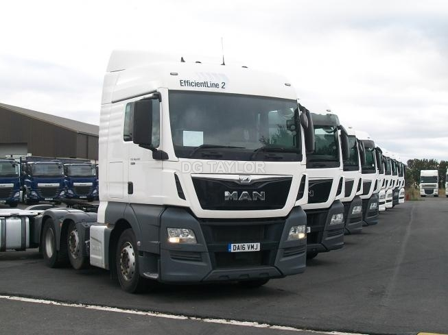 2016 MAN TGX 26 440 EURO 6 (SCR ADBLUE) XLX CAB 6X2 UNIT (CHOICE OF 8)