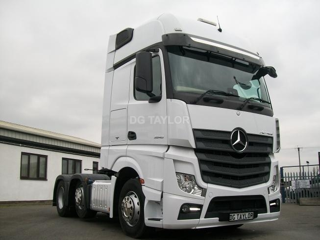 2017 MERCEDES 2548 EURO 6 GIGA SPACE 6X2 UNIT