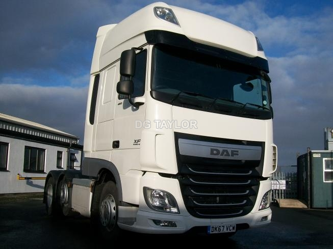 2017 (67) DAF  XF EURO 6 460 BHP SUPERSPACE CAB 6X2 UNIT (AUTO)