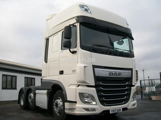 2017 DAF  XF EURO 6 510 BHP SUPERSPACE CAB 6X2 UNIT (AUTO)