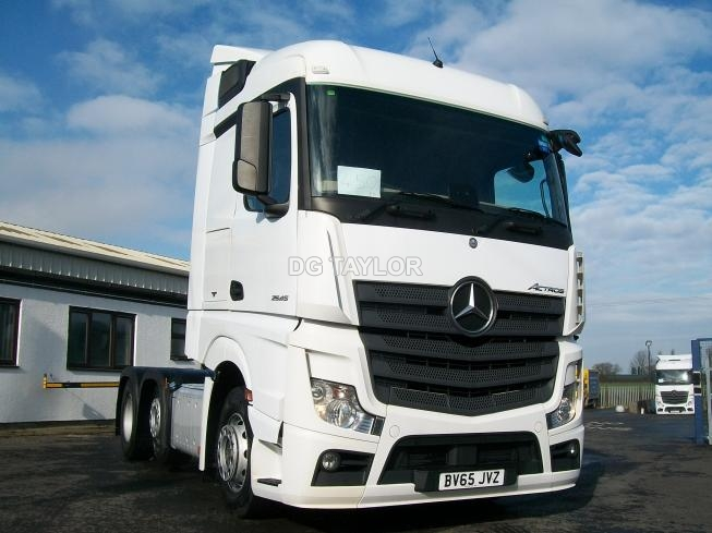 2015 (65) MERCEDES-BENZ  ACTROS 2545 EURO 6 L-CAB STREAM SPACE 6X2 UNIT